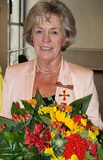 Bundesverdienstkreuz für unser Vereinsmitglied Ute