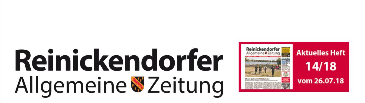 Bericht über Saunafreunde in der Reinickendorfer Allgemeine Zeitung