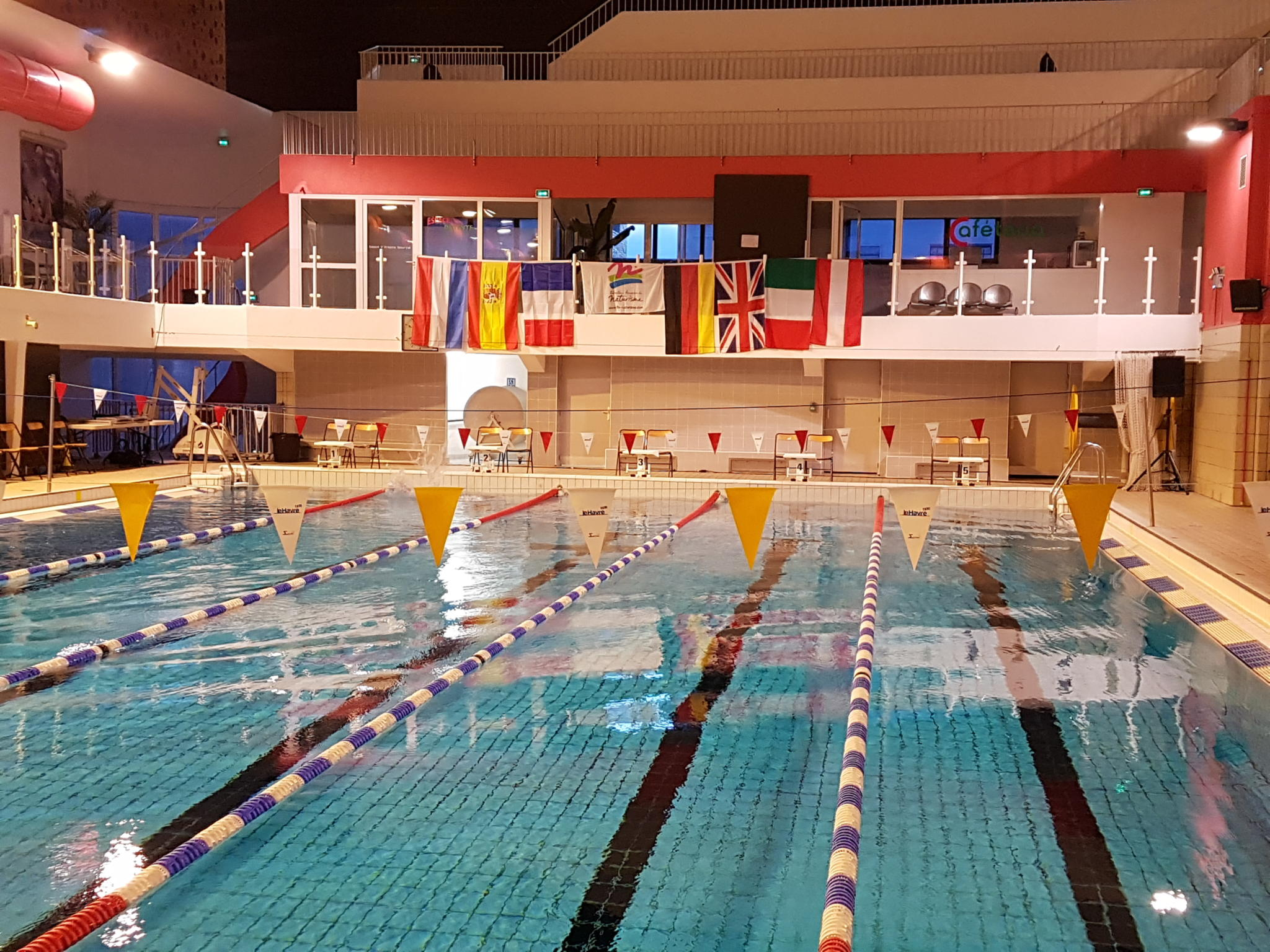 47. INF Schwimmgala vom 26.10.-28.10.2018 in Le Havre